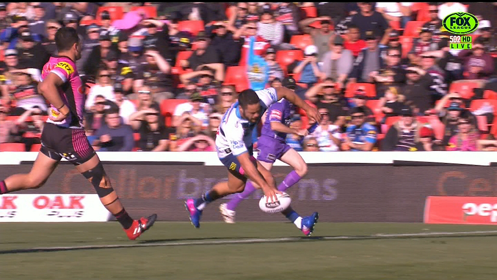 Hayne finishes off nice move for Titans