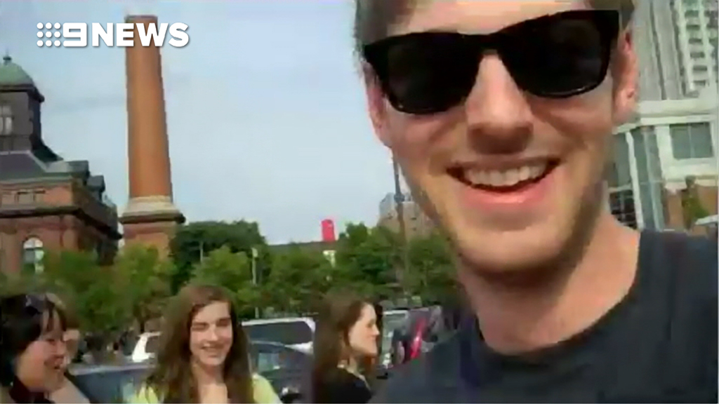 Owl City's Daniel Jorgensen greets fans on tour in 2011