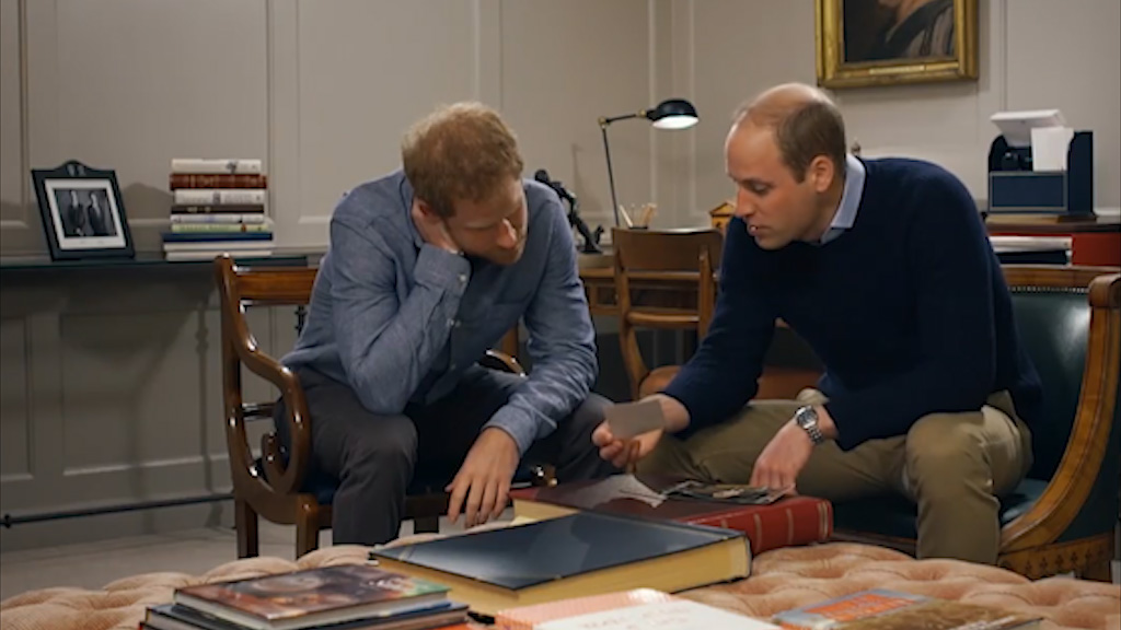 Princes William and Harry talk openly about their mum in new documentary