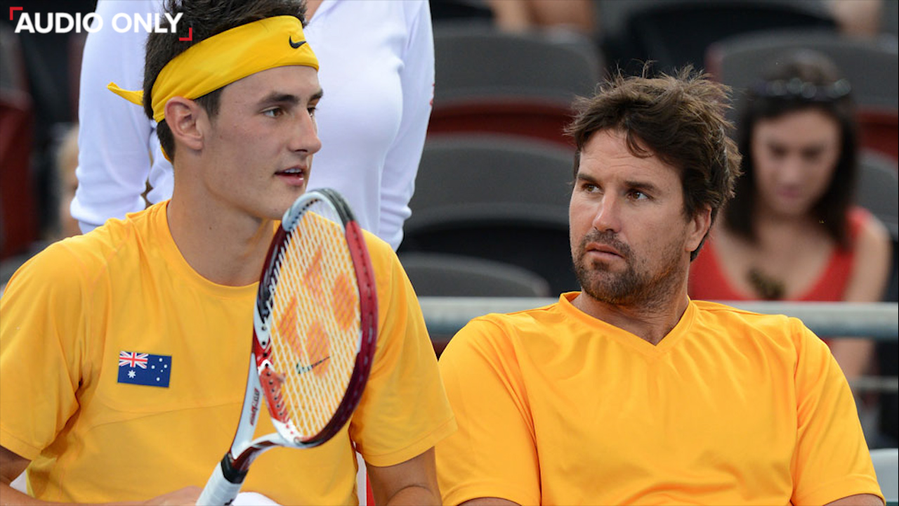 Rafter regrets disgraceful Tomic comments
