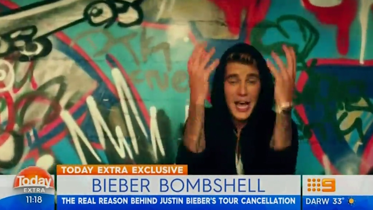 Richard Wilkins says Justin Bieber cancelled tour for religious reasons