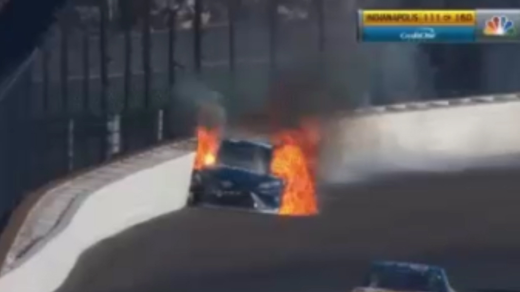 The cars that put out their own fires