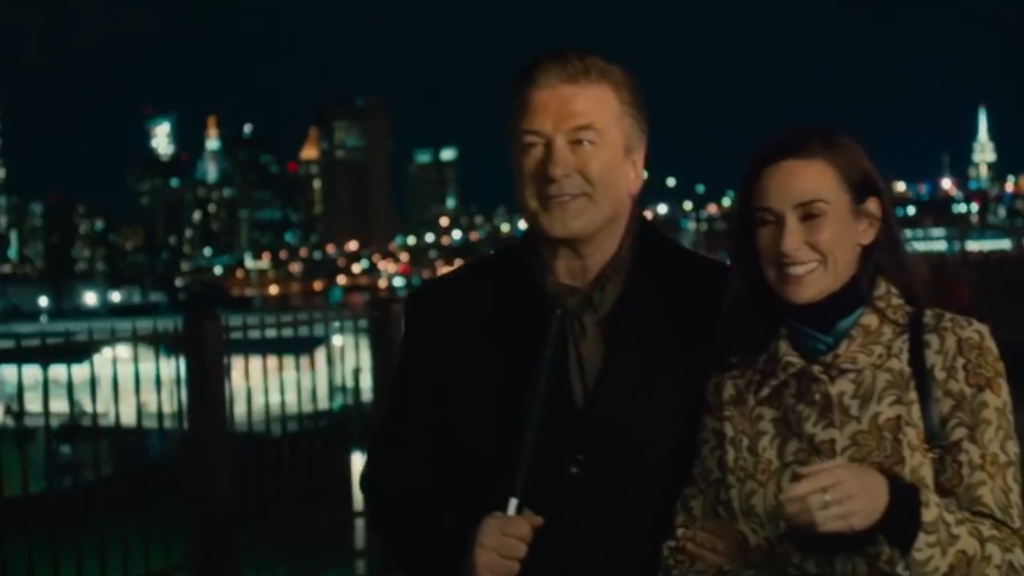 Demi Moore and Alec Baldwin star in the romantic thriller 'Blind'