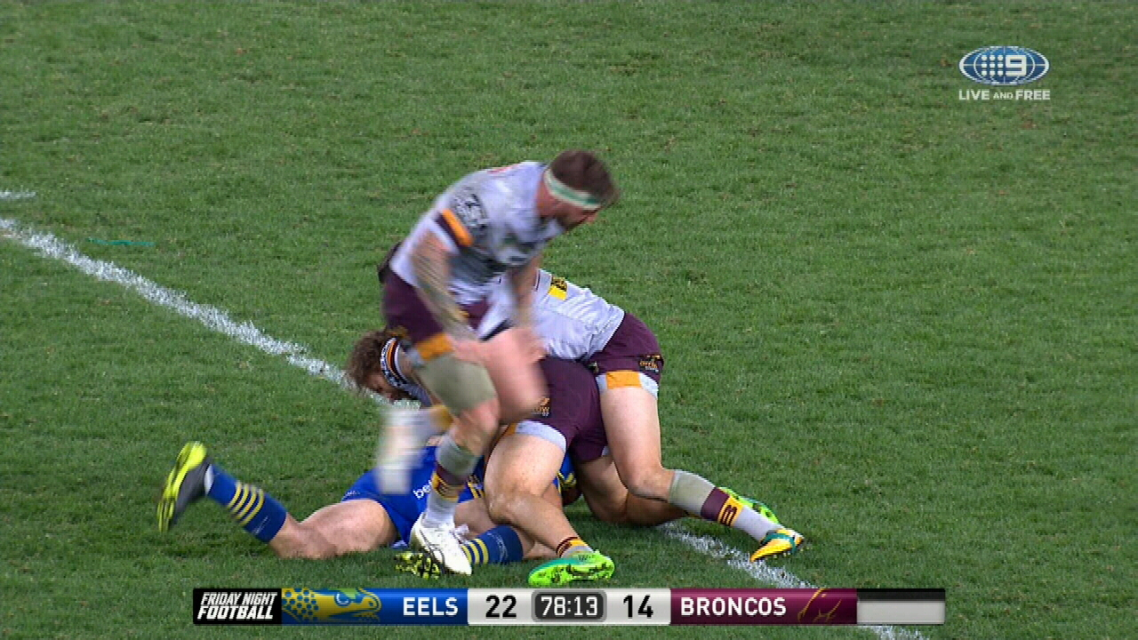 Eels take aim at McGuire over 'dirty play'