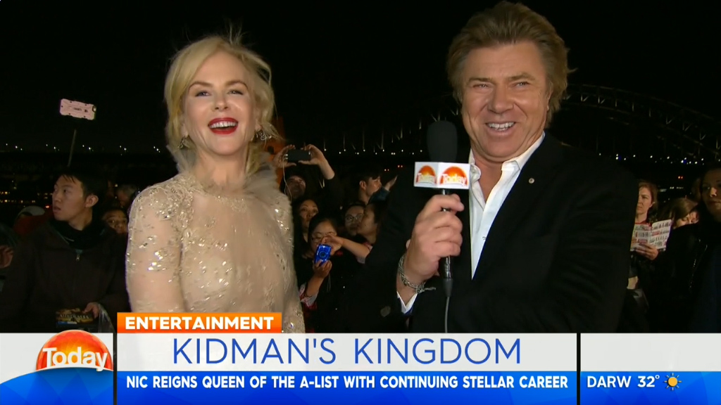 Richard Wilkins interviews Nicole Kidman