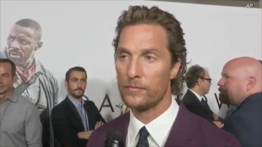 McConaughey surprised to hear of co-star's death in interview