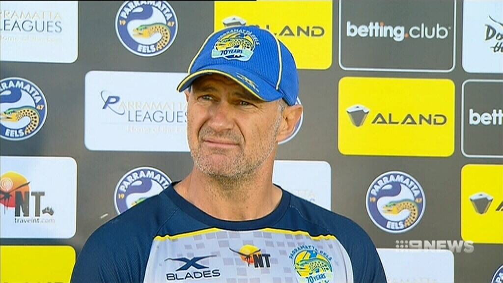 Arthur urges Eels to keep the rage