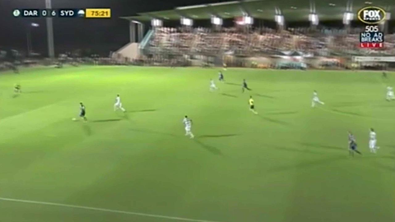 Bobo grabs a quartet in FFA Cup thrashing