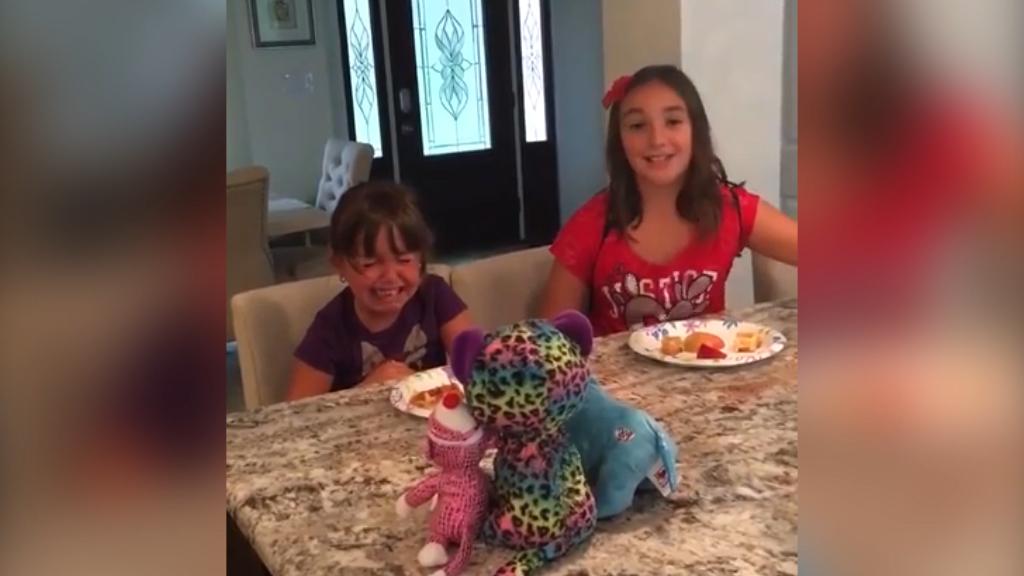 Kids react to parents' decision to go vegan