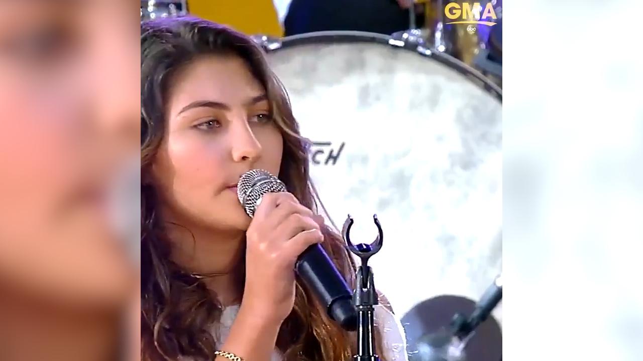 Chris Cornell's daughter makes tv debut, sings 'Hallelujah'