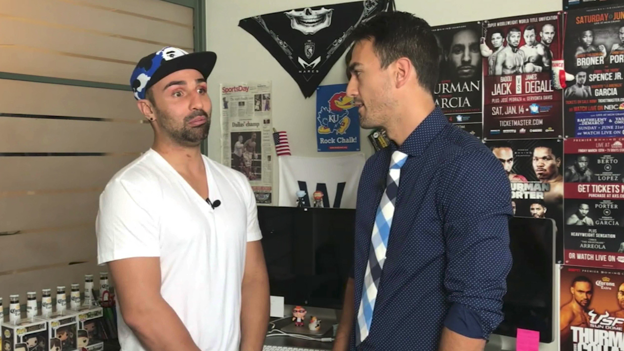 Malignaggi leaves the circus