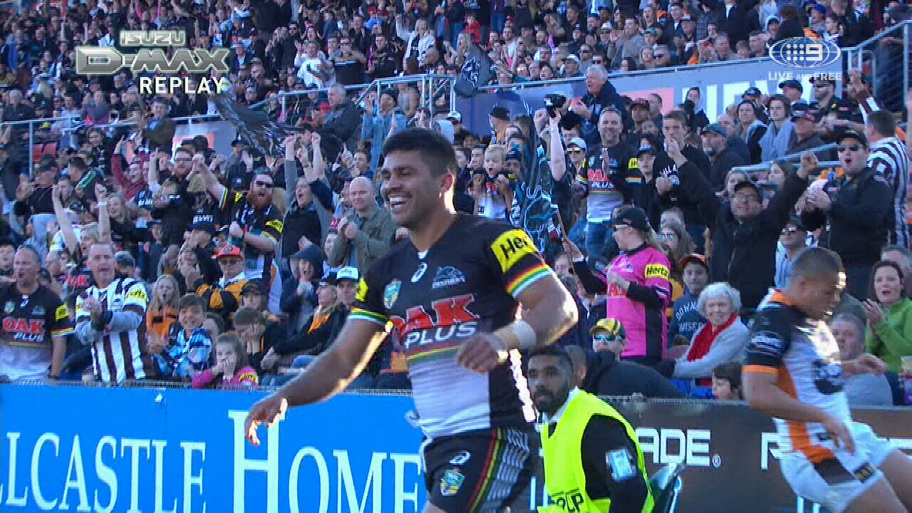 Tigers mistake leads to Panthers' try