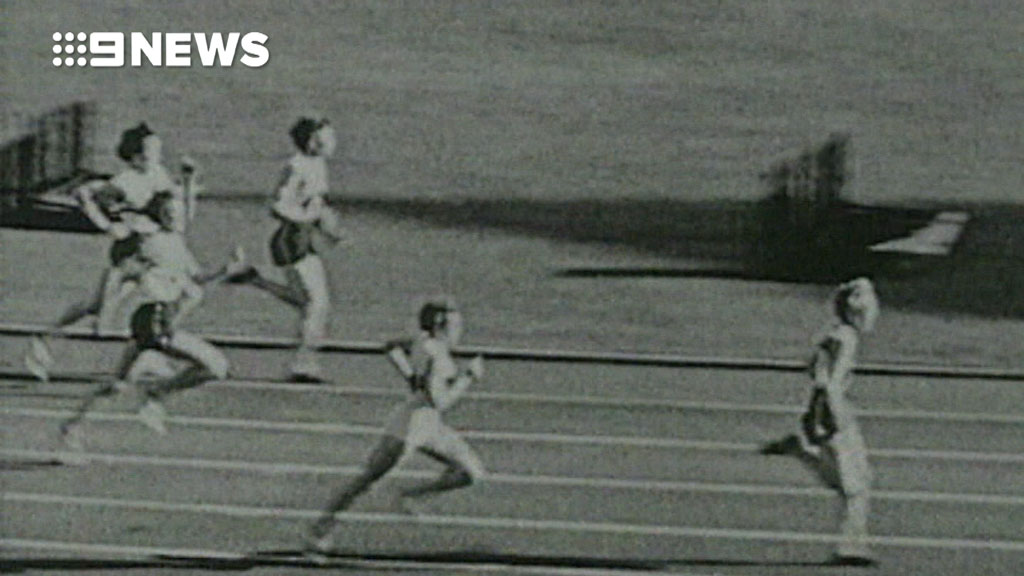 9RAW: Betty Cuthbert wins gold at the 1964 Tokyo Olympics