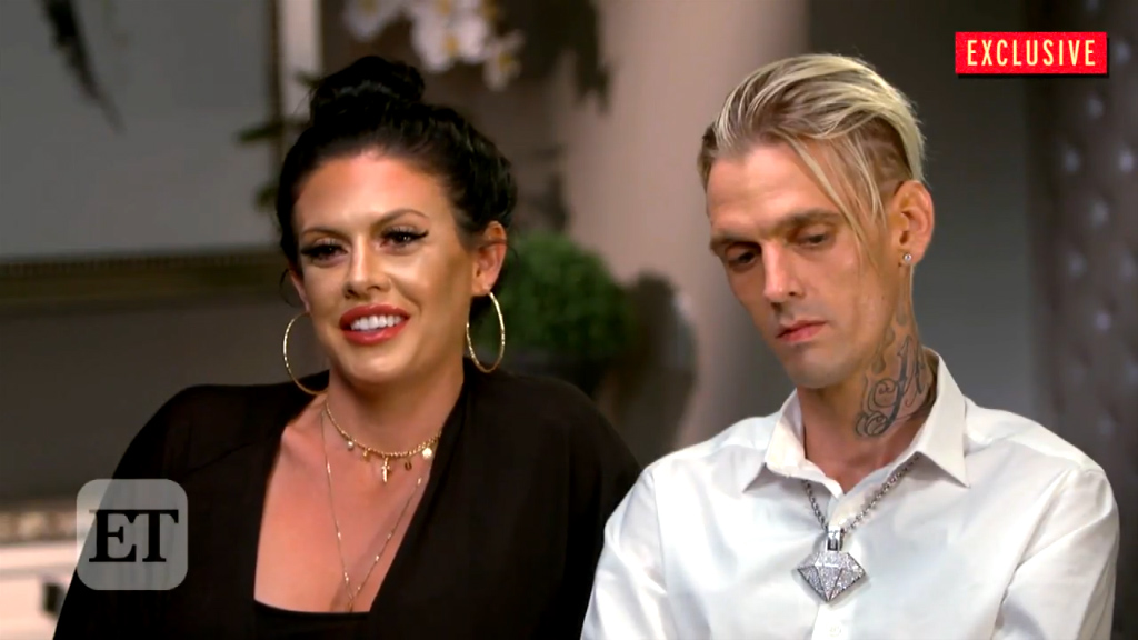 Aaron Carter gushes over girlfriend