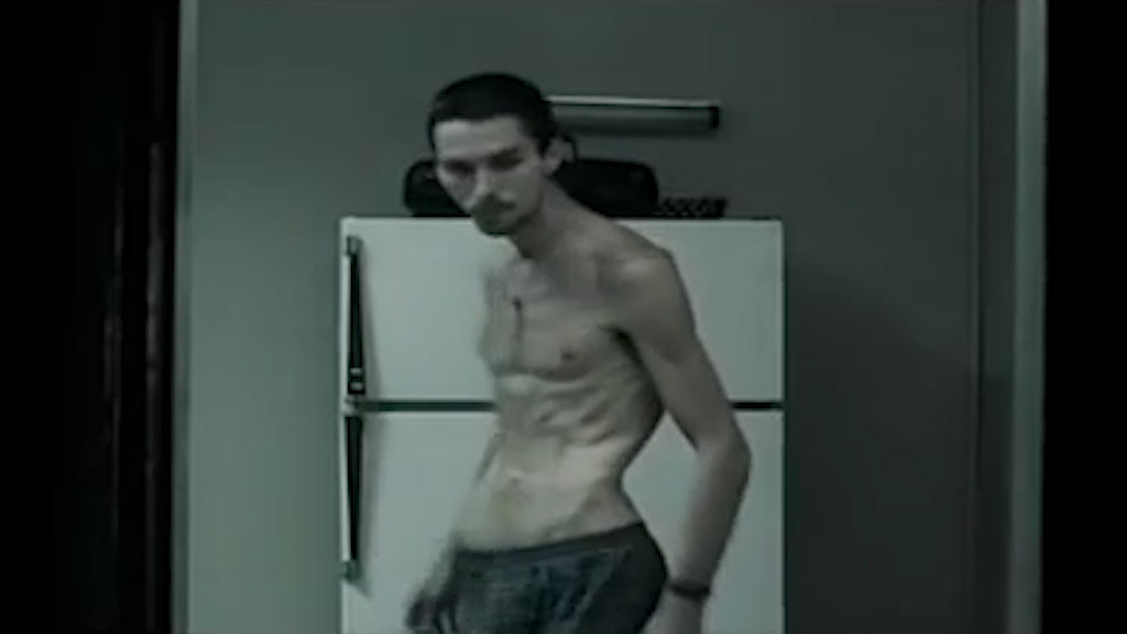 Christian Bale stars in The Machinist