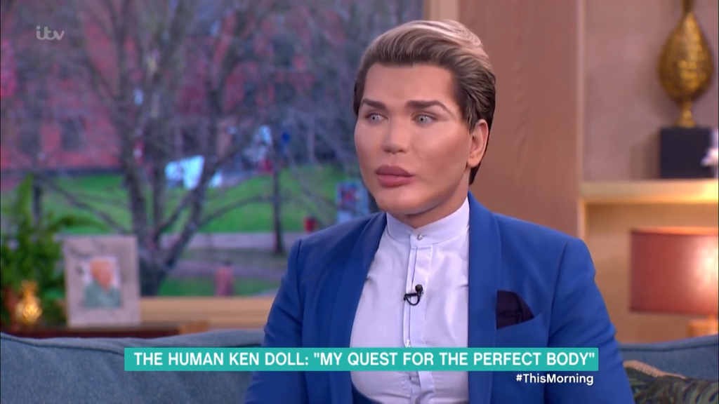 Human Ken Doll on his quest for perfection