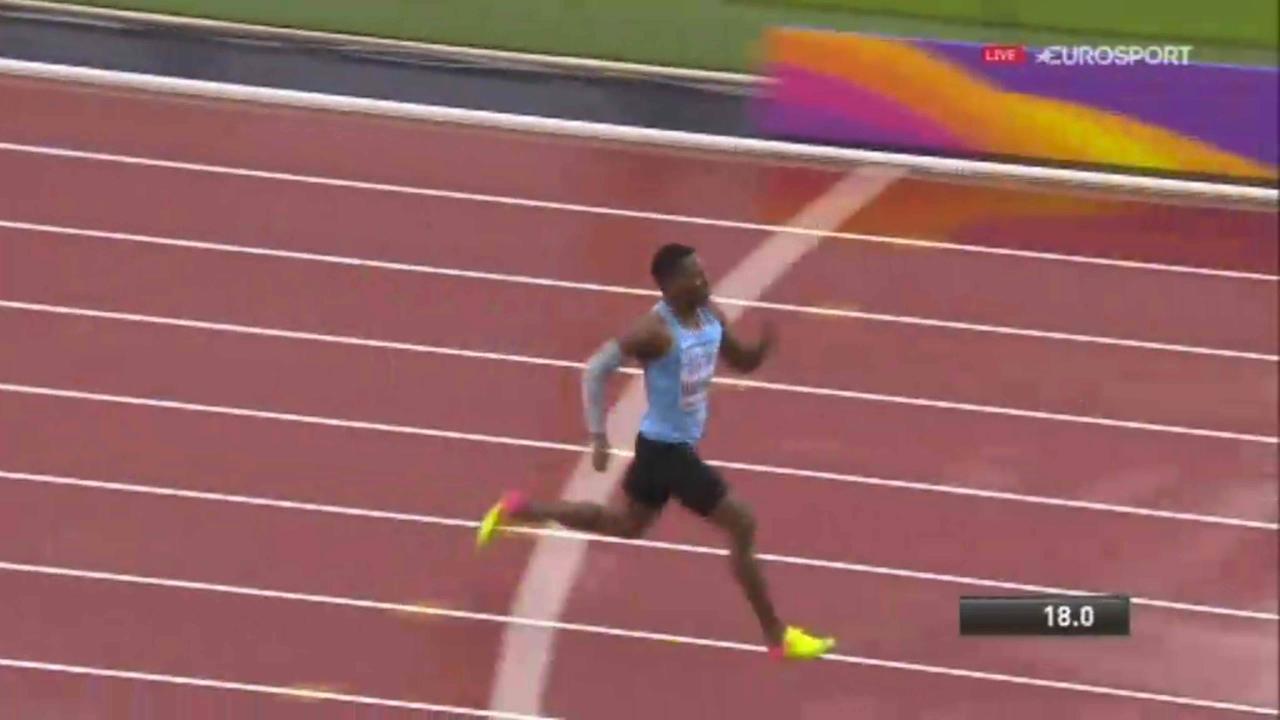 Makwala wins lonely race