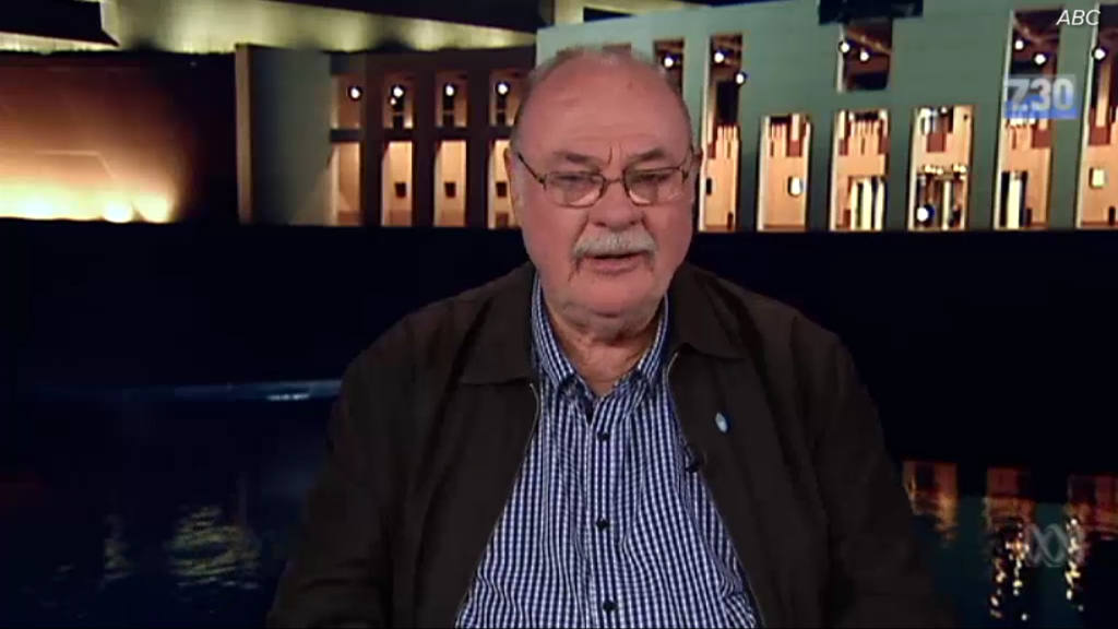 Leigh Sales interviews Liberal MP Warren Entsch