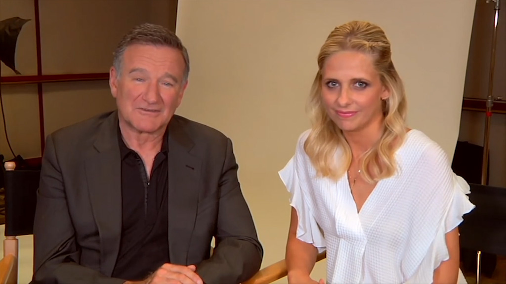 Robin Williams and Sarah Michelle Gellar are proud of their children