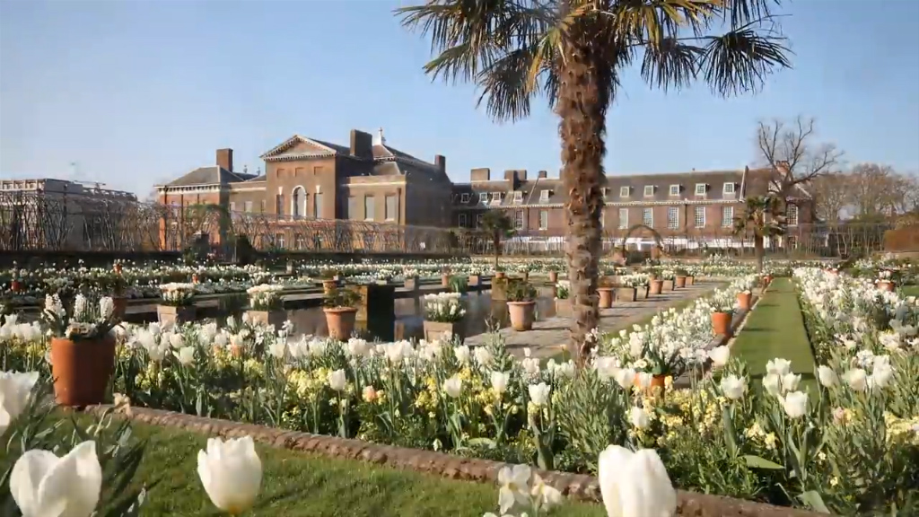 The White Garden Kensington Palace