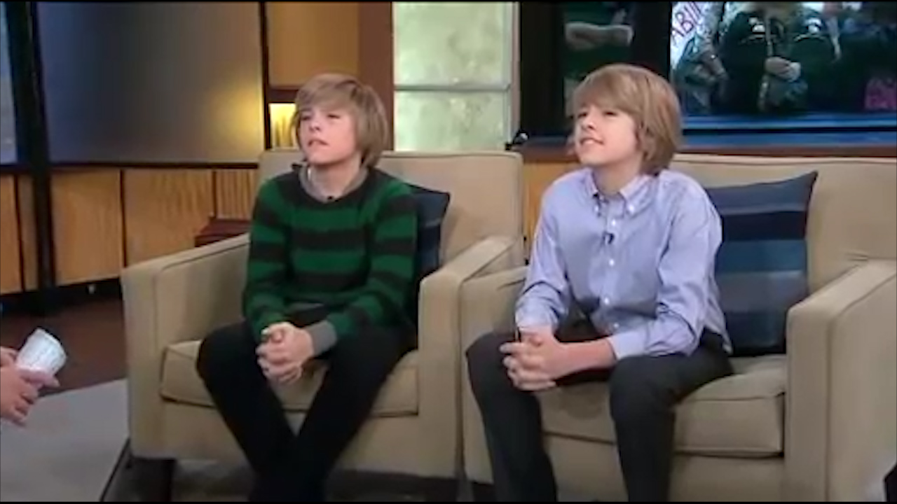 Dylan and Cole Sprouse on Good Morning America