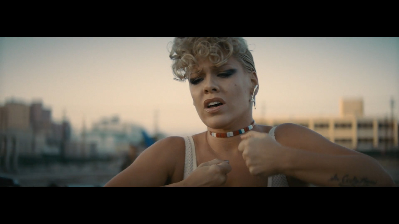 P!nk releases official music video for 'What About Us'