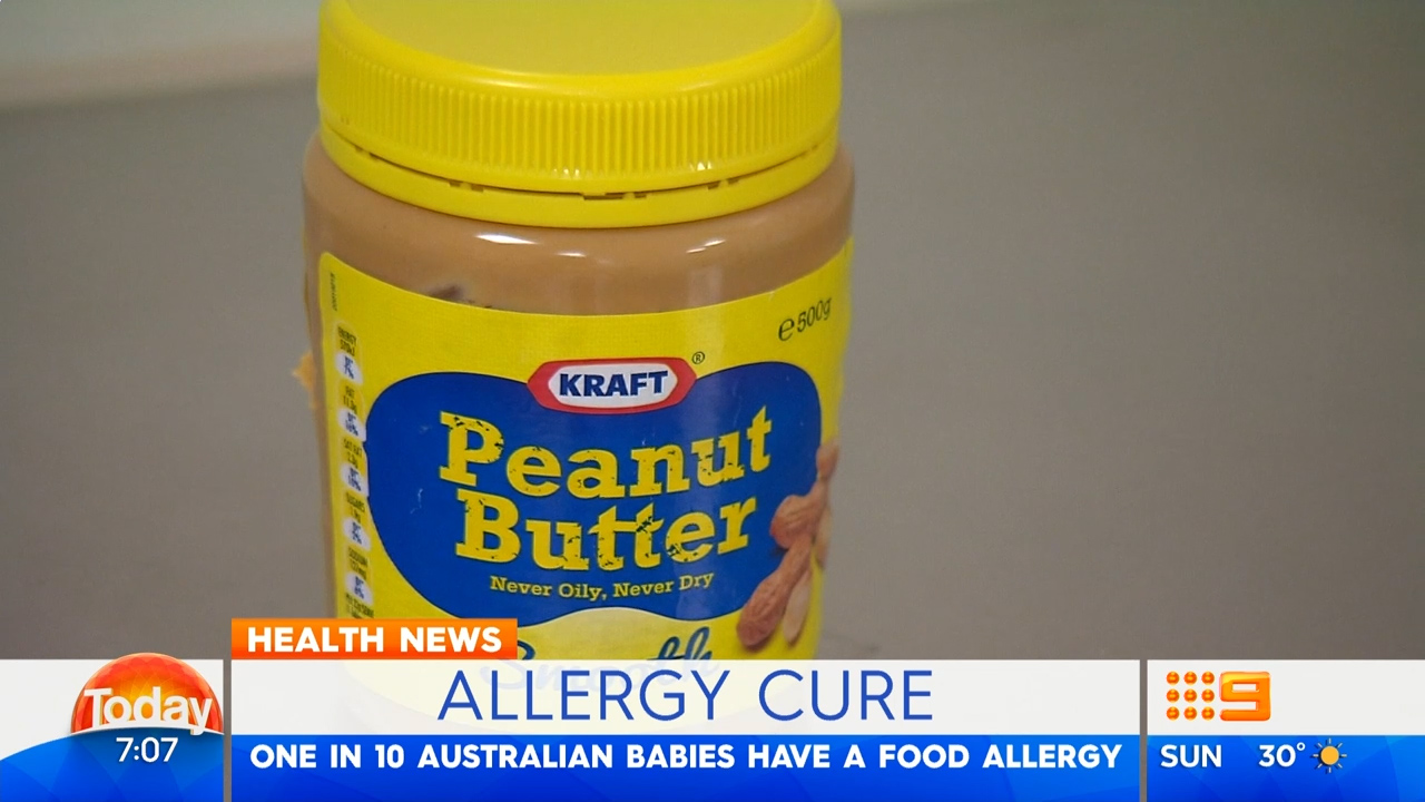 Professor Mimi Tang talks about a peanut allergy cure
