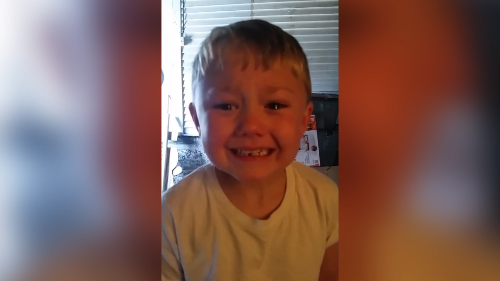 Boy Cries For Lost Tooth