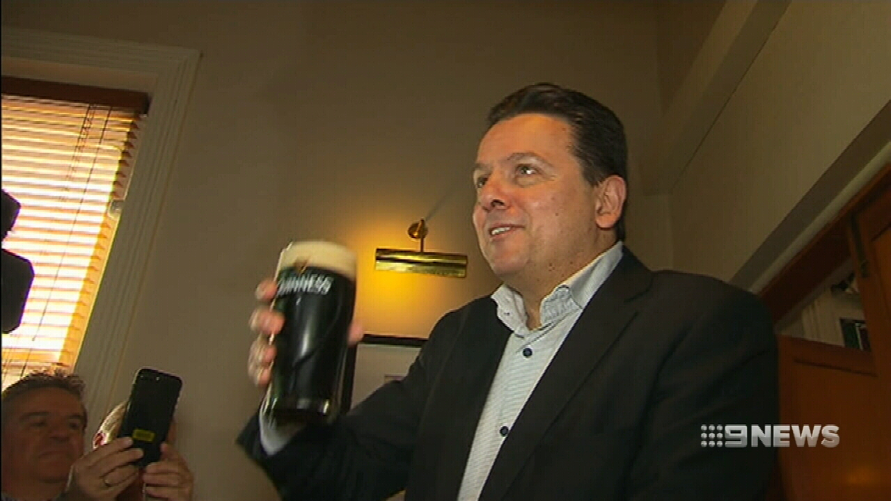 Nick Xenophon joins list of dual citizens
