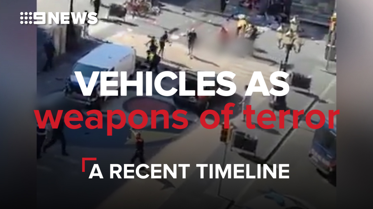 Vehicles as weapons of terror