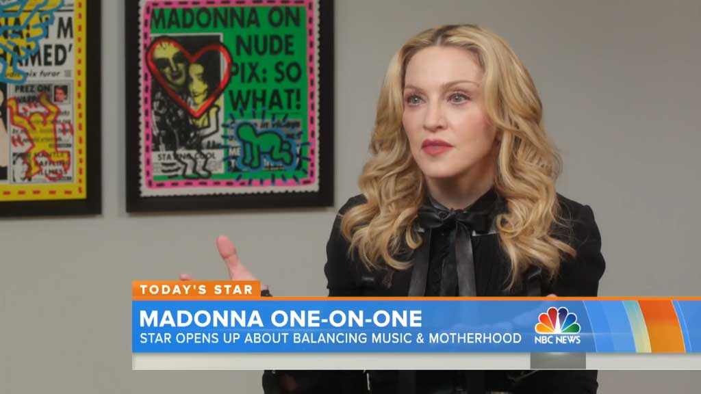 Madonna opens up about her kids
