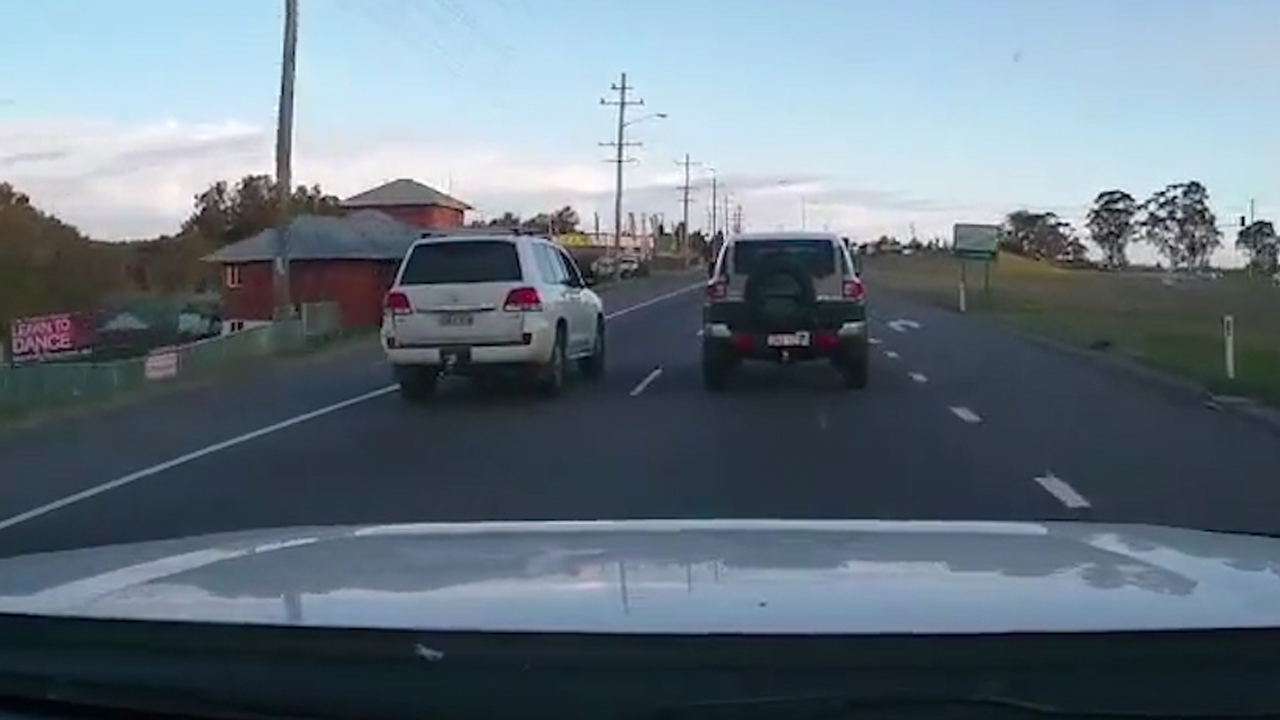Enraged driver rams P-plater