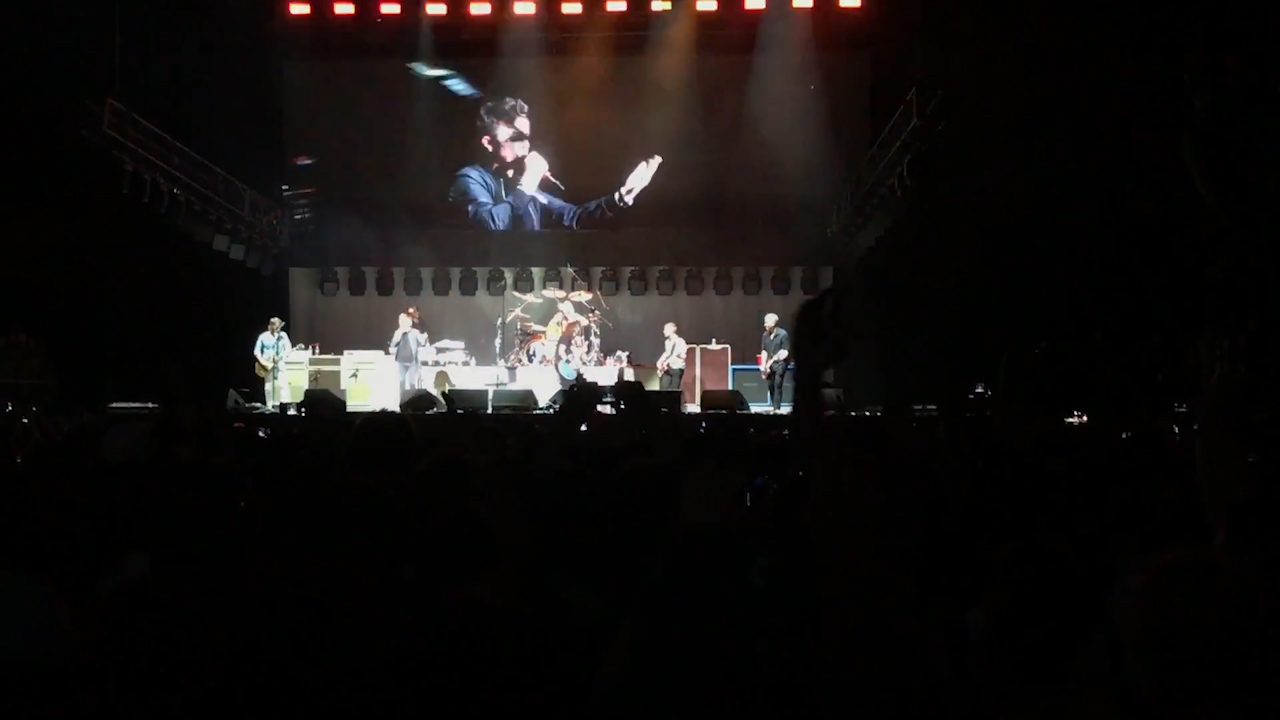 Foo Fighters and Rick Astley Rickroll a music festival crowd