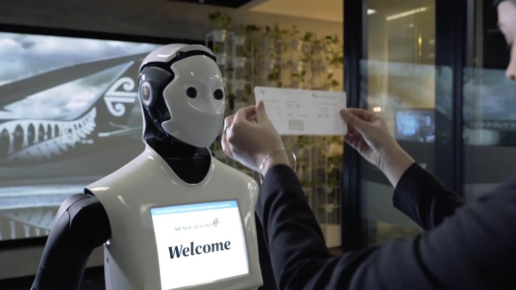Robots to help passengers