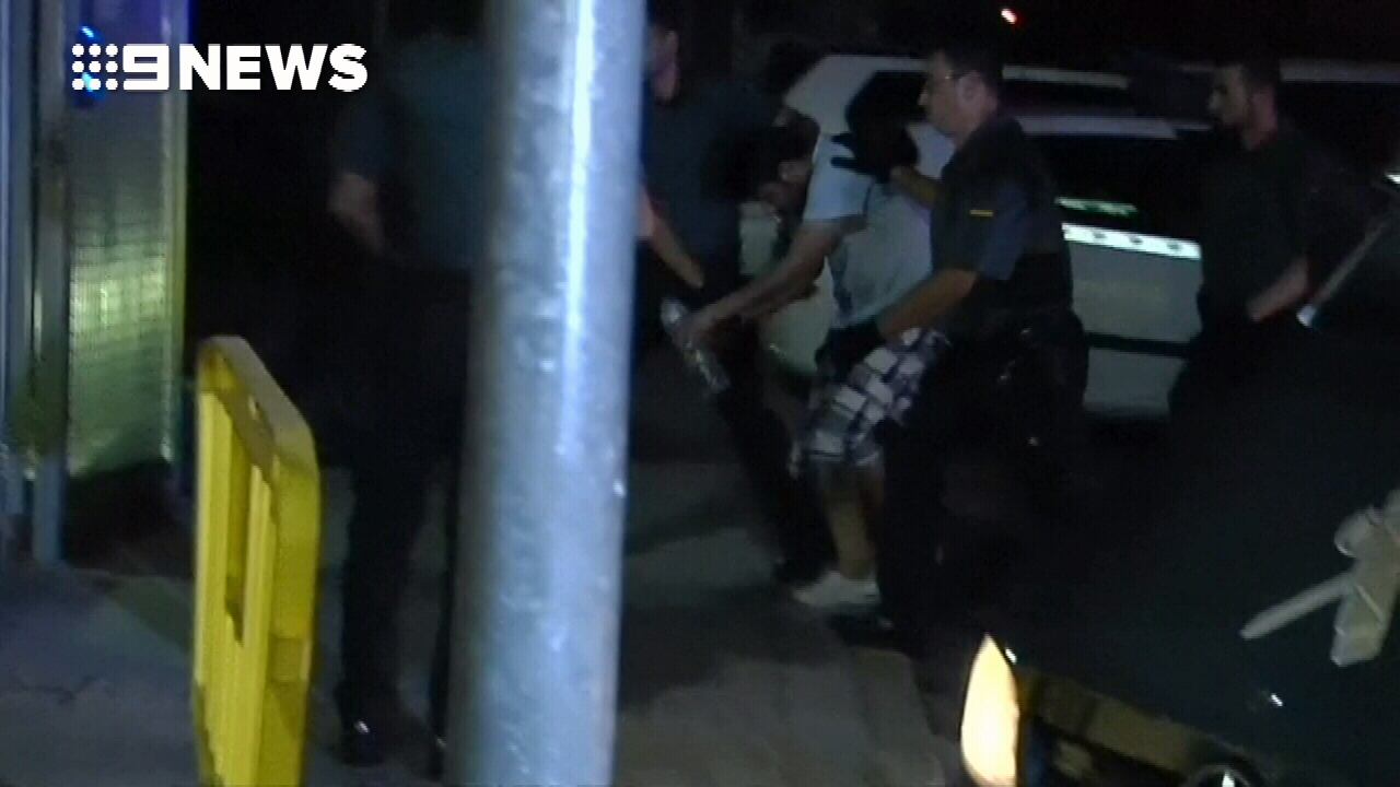 Barcelona terror suspects arrive at jail