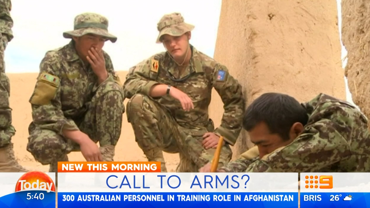 Reports Australia will be asked for more troops in Afghanistan