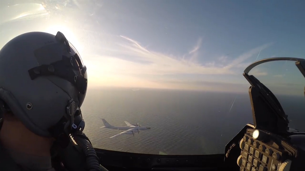 Danish Air Force intercepts Russian bomber