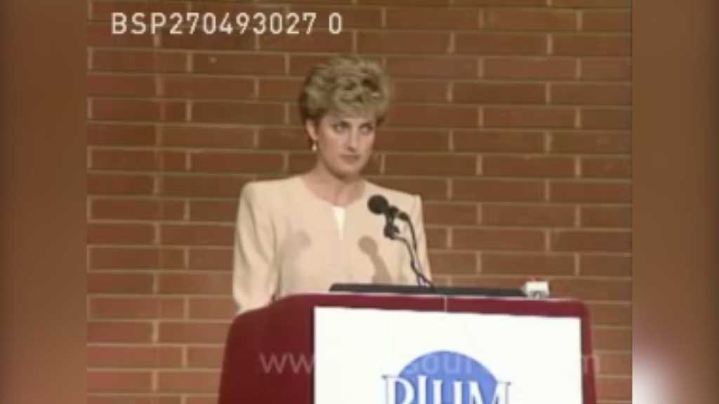 Princess Diana talks about eating disorders