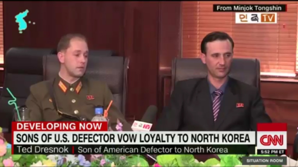 Sons of US soldier who defected to North Korea defend their beliefs