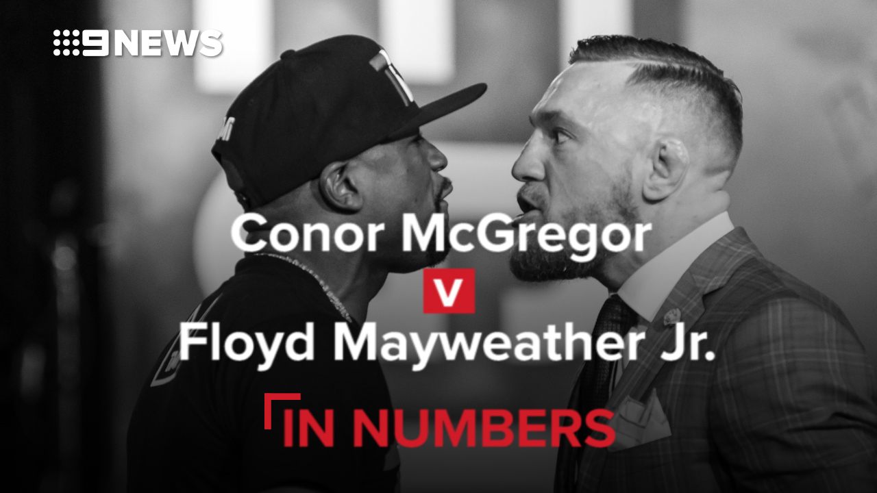 Conor McGregor vs Floyd Mayweather – in numbers
