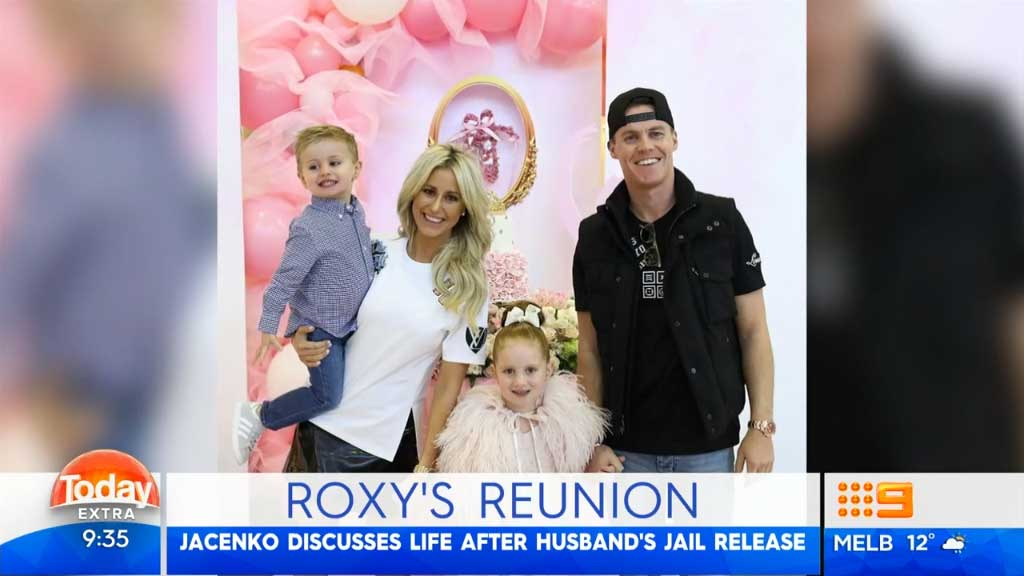 Roxy Jacenko appears on TODAY