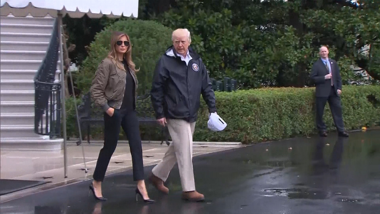 9RAW: Melania Trump makes waves with 'storm stilettos'