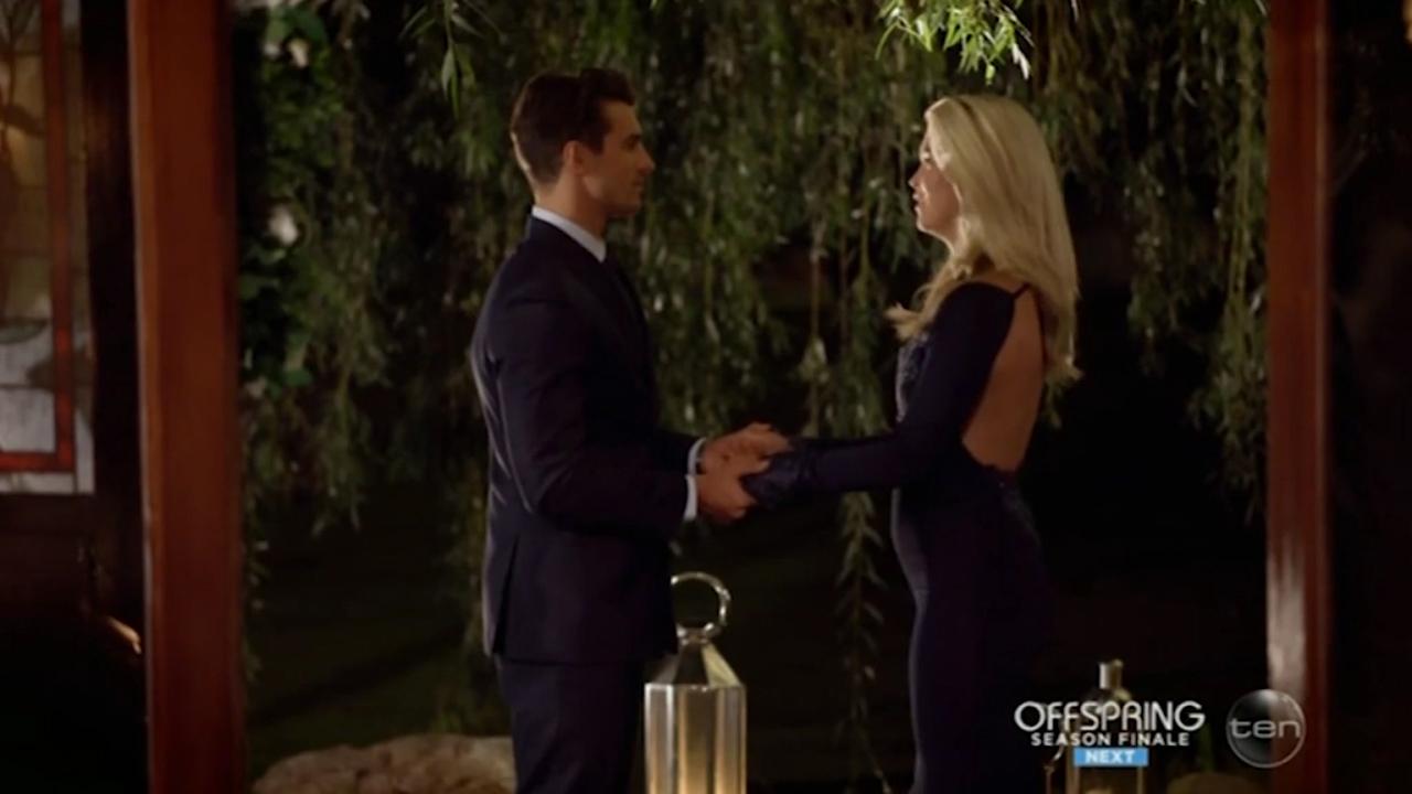 The Bachelor's Matty J sends Simone home