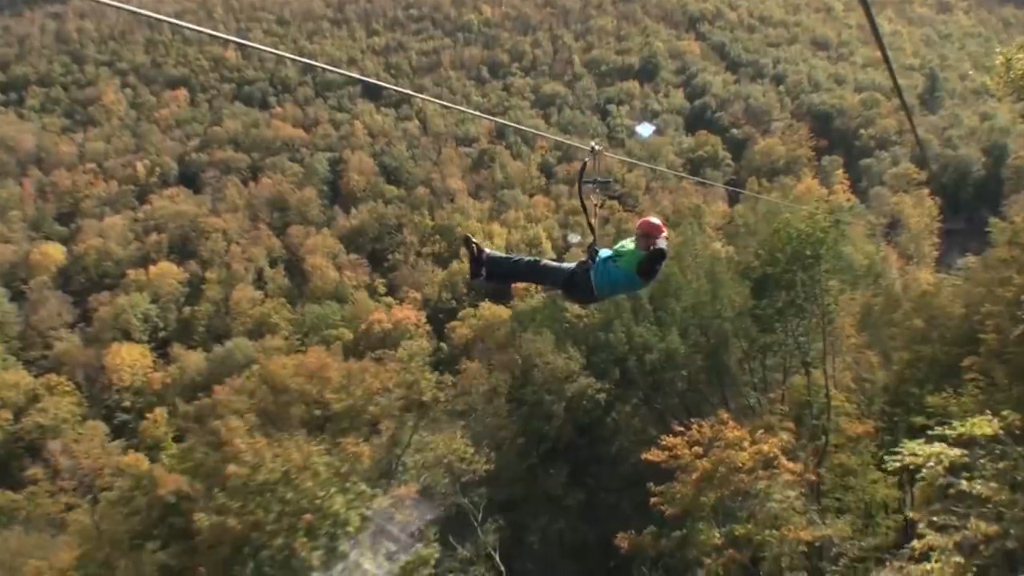 The best way to take in the sights? Take a ride on America's longest and highest zip line