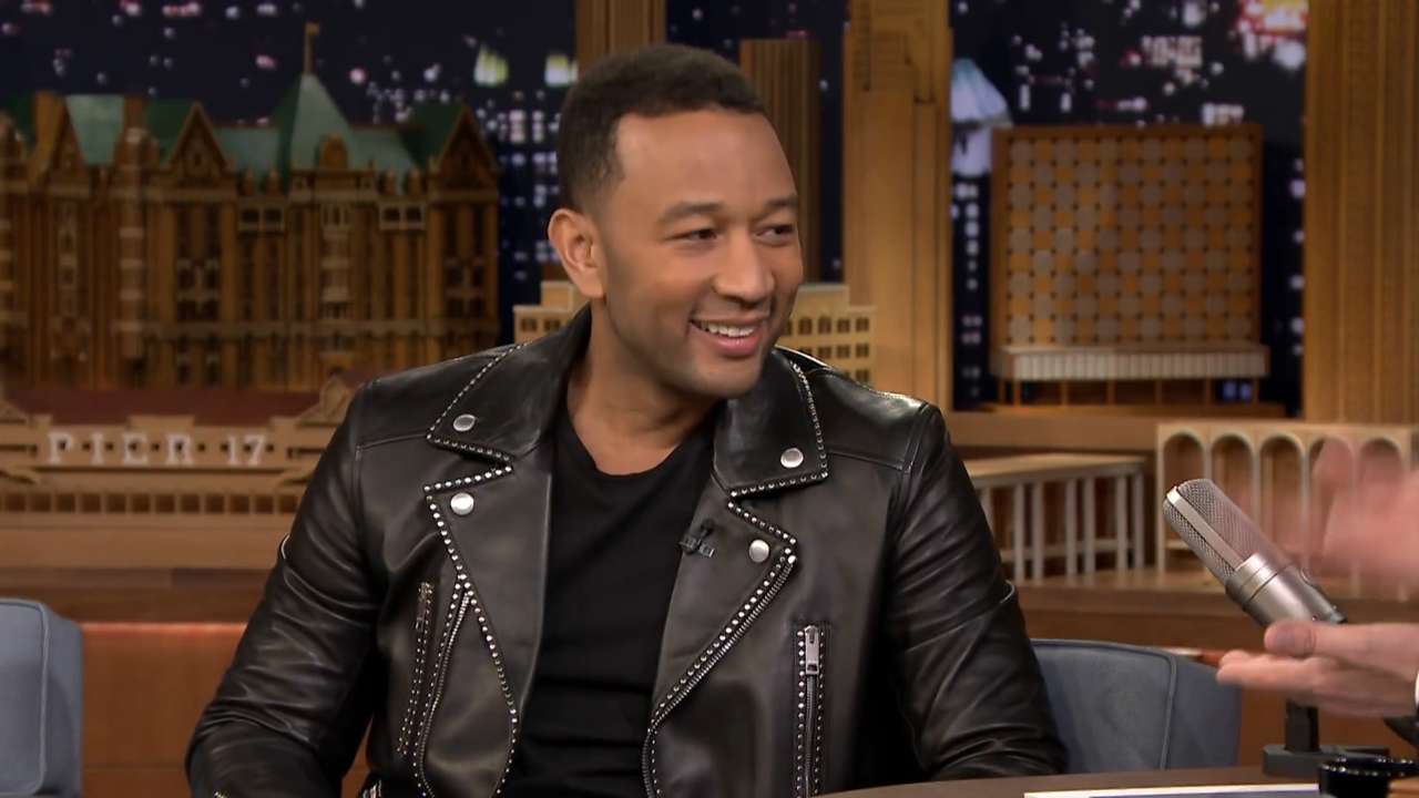 John Legend talks fatherhood with Jimmy Fallon