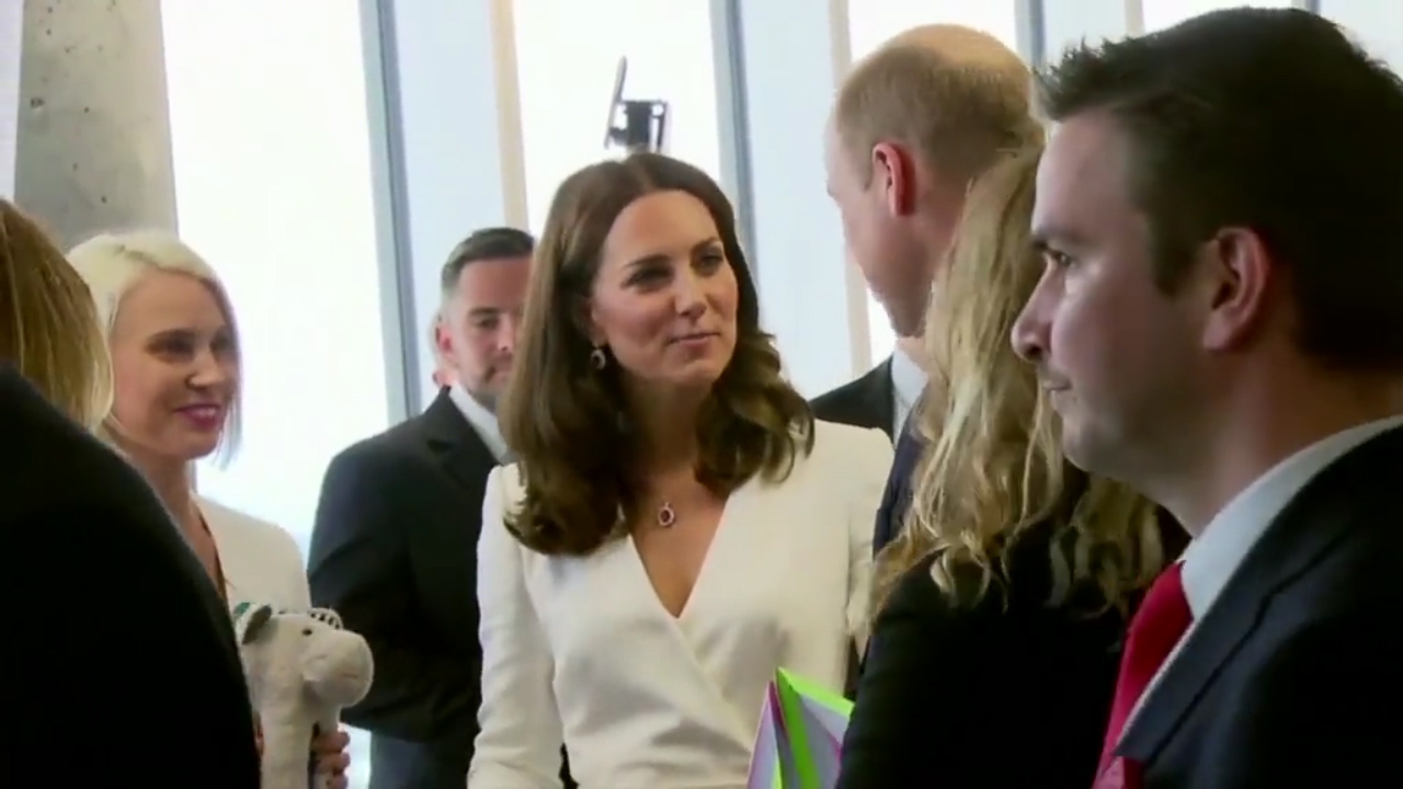 Kate Middleton jokes about having more children
