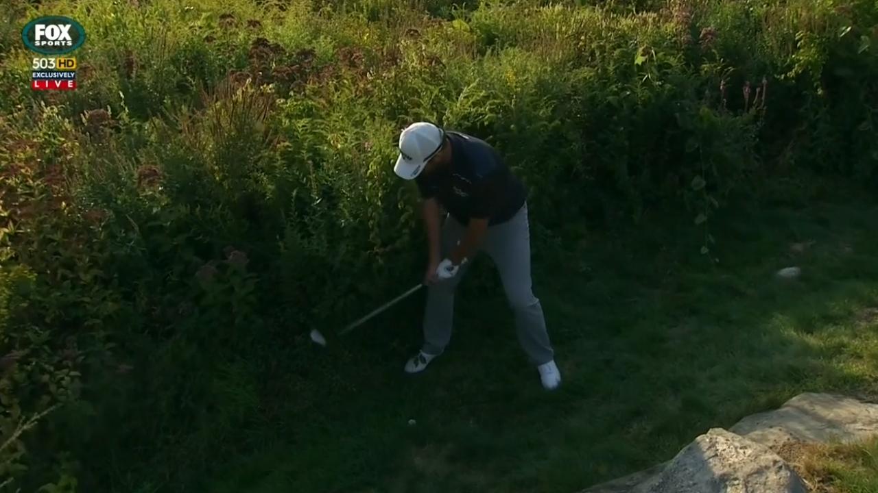Leishman chokes at PGA playoff event