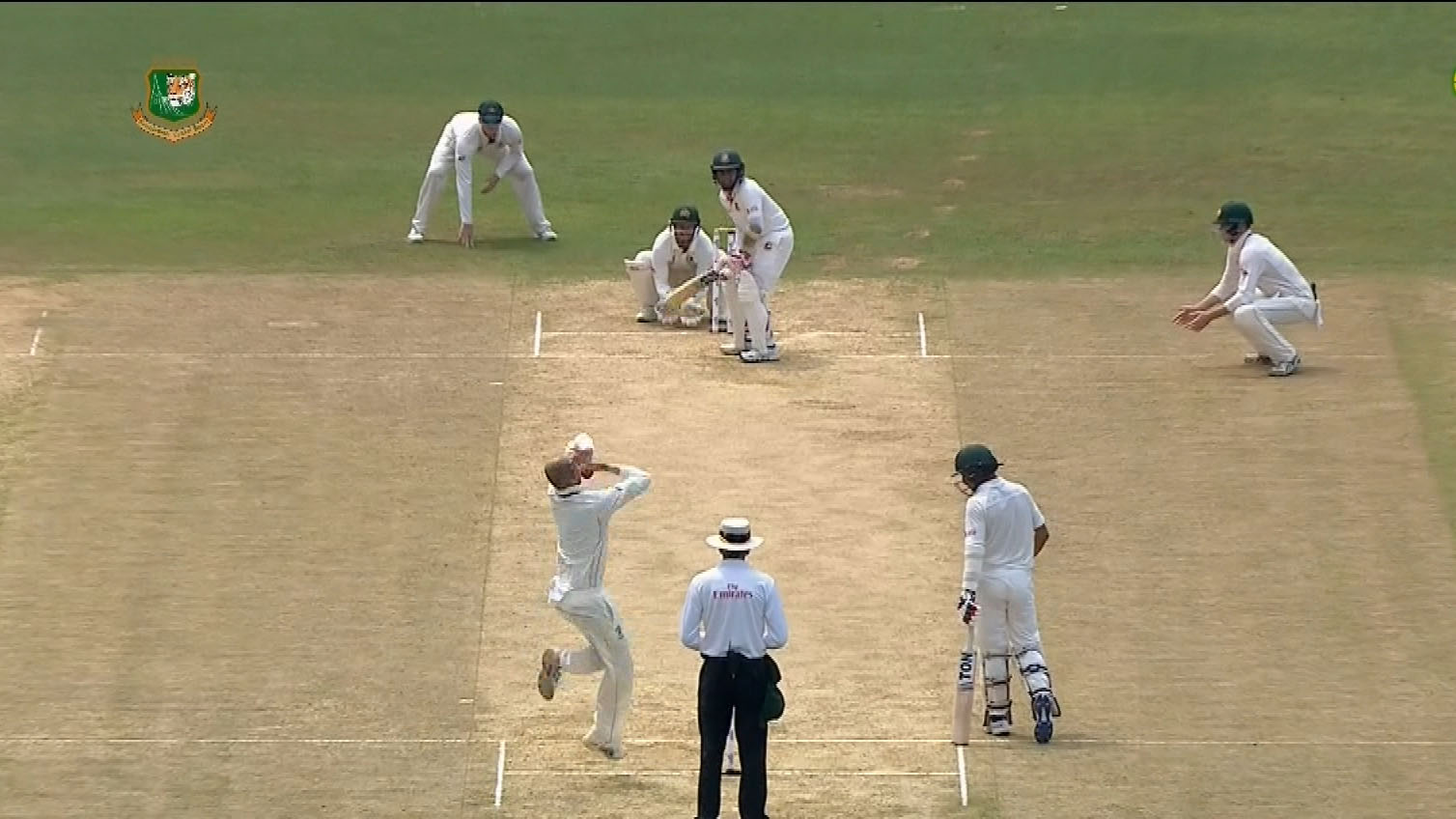 Lyon gets early wicket on day two