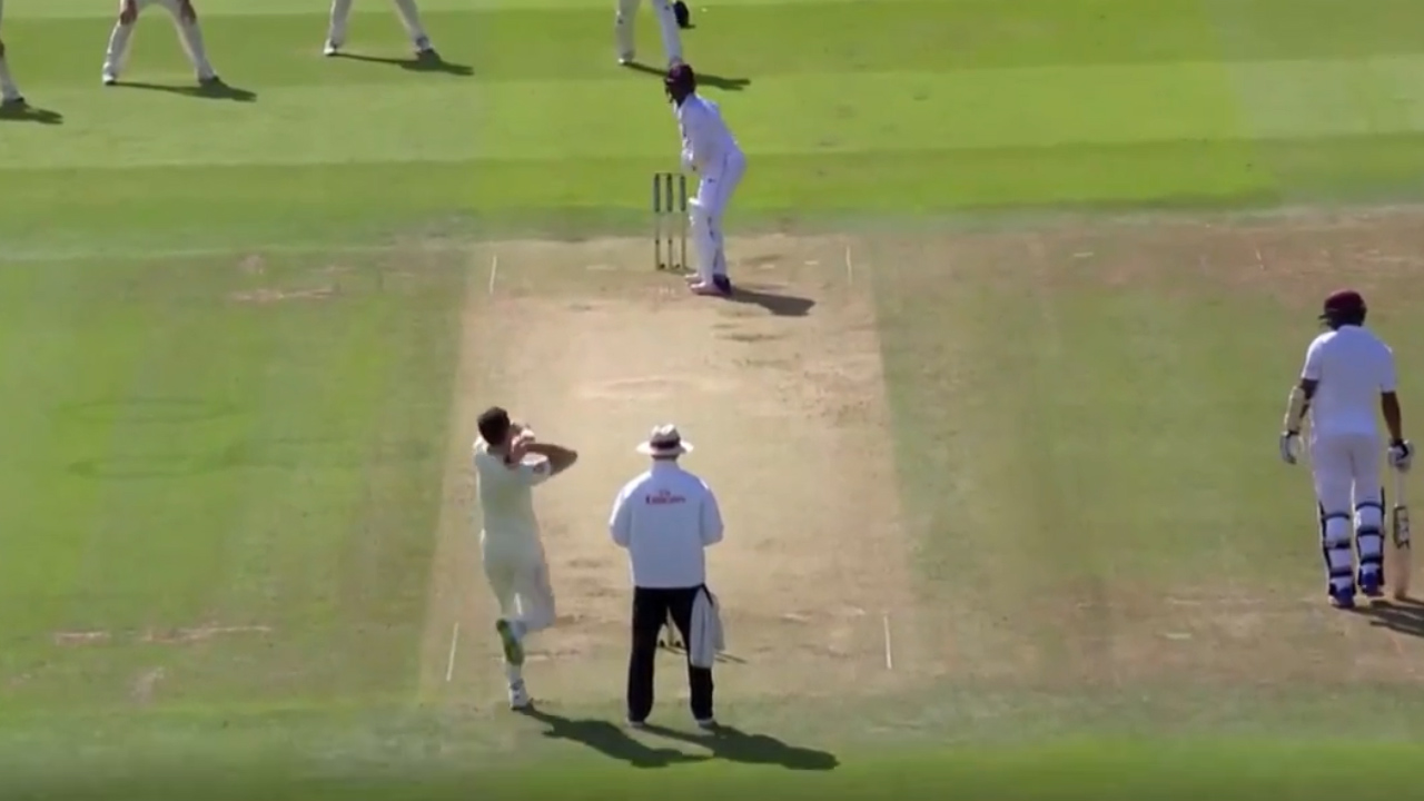 Anderson cleans up West Indies