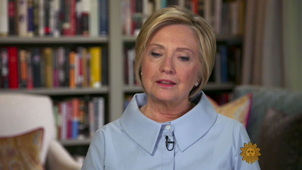 Hillary Clinton speaks about defeat and the healing process